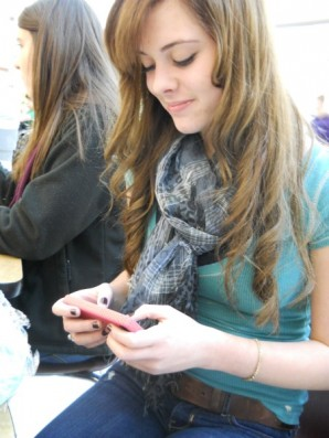 Texting has been shown to be a popluar activity among teens, such as, Alexis West (9).