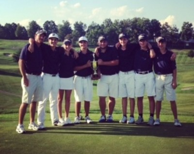 Golf team makes school history, clinches state title