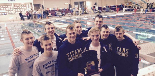 Mens Swimming State Champs 2015 copy