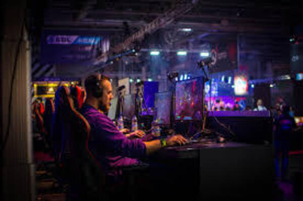 Common setup for a E-Sports competition