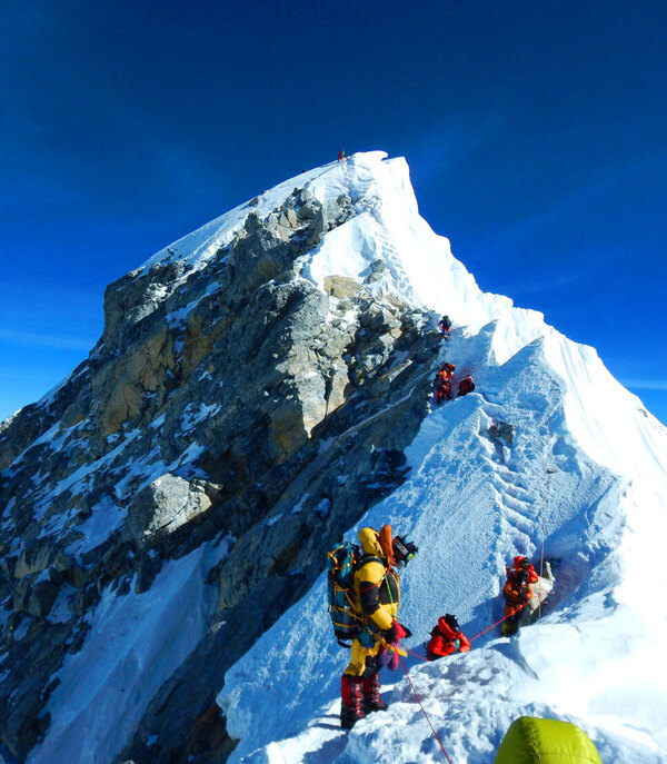 Opening Everest Back Up after COVID