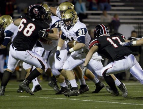 Hidden Valley beats Cave Spring 14-12 in first high school football matchup of the season.
